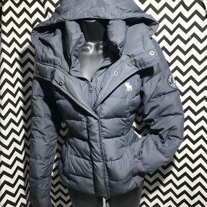 Abercrombie &Fitch down jacket sz large
